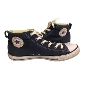 Converse All Stars Mens 11 Padded Navy Sneakers